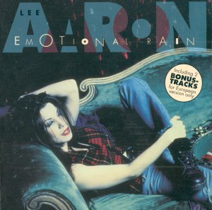 Emotional Rain (European Release Cover)