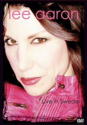 Live In Sweden DVD cover 2012 Lee Aaron