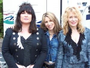 with Ann and Nancy Wilson of Heart