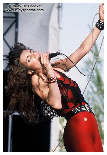 Heavy Sound Festival, Belgium, 1985