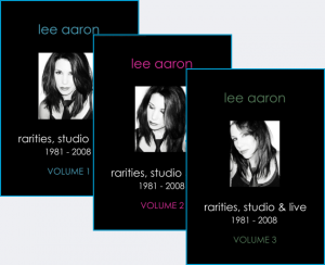 Lee Aaron-rarities, studio & live-3 dvd set