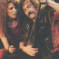 With guitarist John Albani, 1985