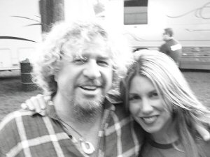 Lee and Sammy Hagar