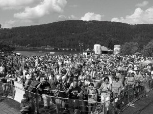 The view from the stage at Mattawa.