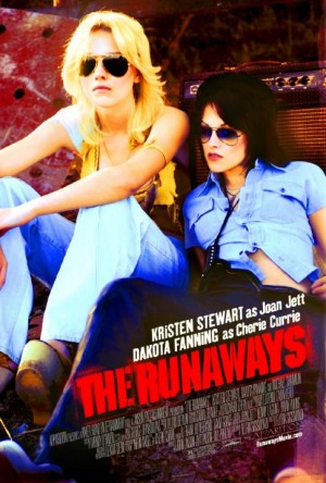 The Runaways movie poster Floria Sigismondi Joan Jett Dakota Fanning Kristen Stewart Cherie Currie Lita Ford