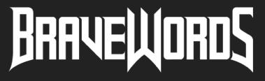 BraveWords logo